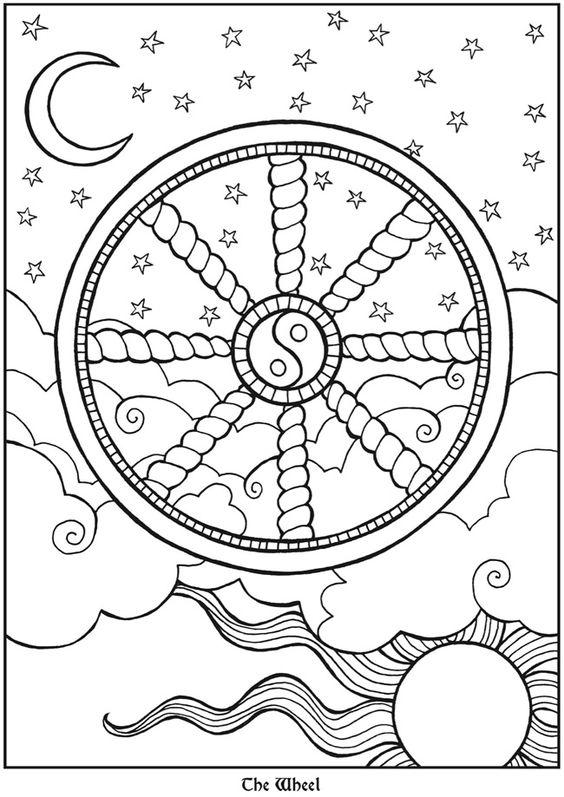 Tarot Designs Dover Publications Samples