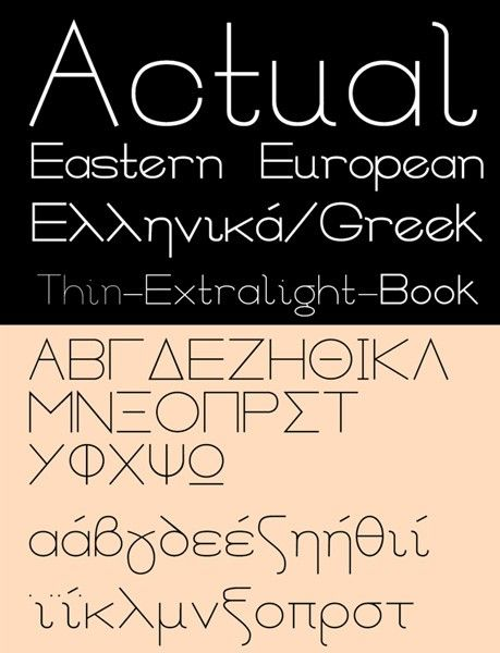 The 100 Greatest Free Fonts for 2014 Actual