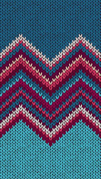 Christmas Knitting Background : Knitted pattern iphone plus wallpaper