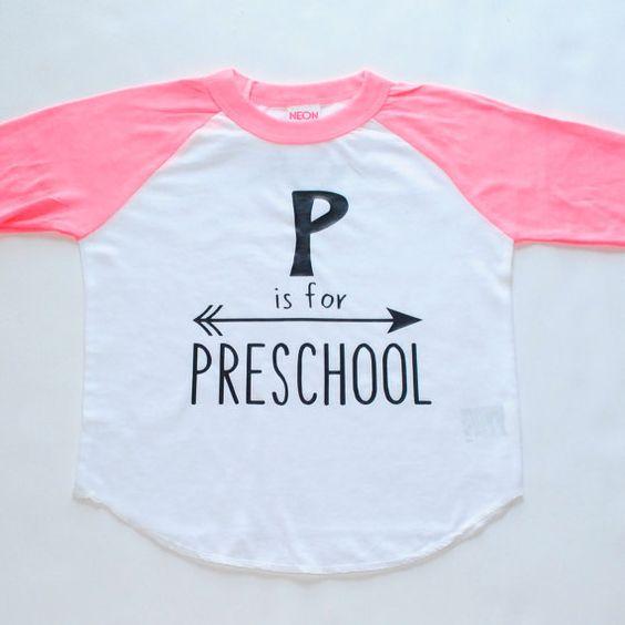 Preschool  Inspirational Alphabet  Child t-shirt  by blueenvelope
