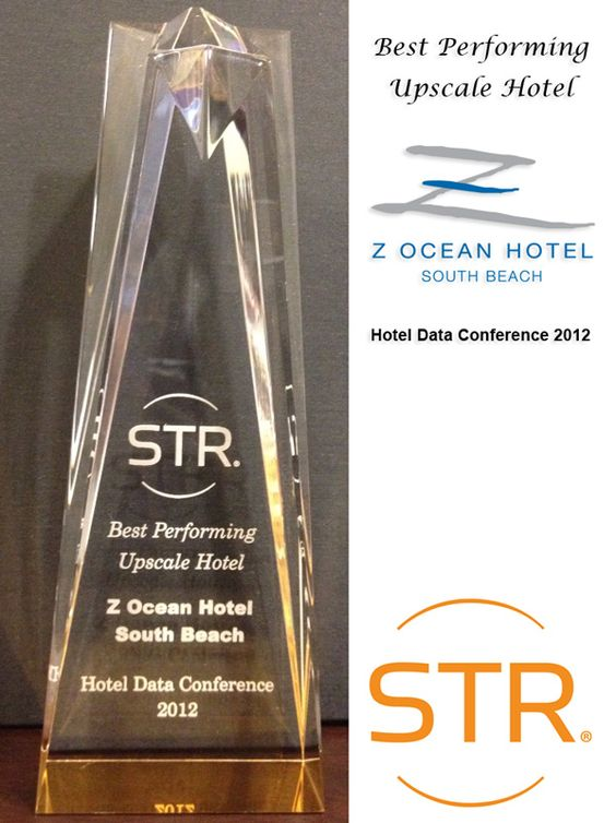 We're very honored to receive Best Performing Upscale Hotel award from STR Inc. at this year's Hotel Data Conference.