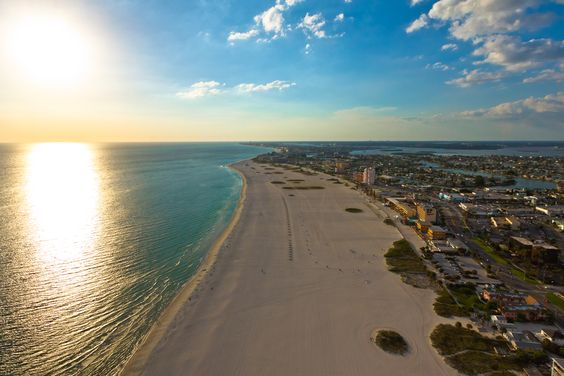 Can't beat this shot of Treasure Island. #AmericasBestBeaches