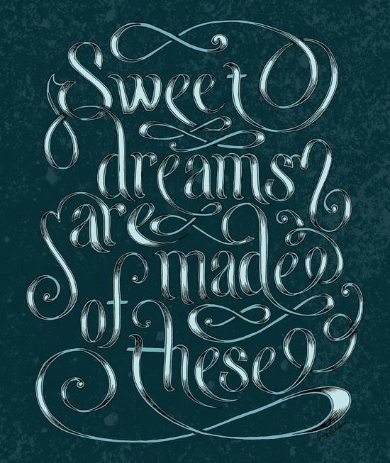 Sweet Dreams Are Made Of These Art Print