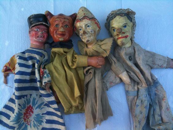 puppets made by famous artists | French puppets from Paris