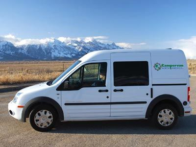 Campervan Rentals In Las Vegas Austin Jackson Hole Yellowstone The Green Alternative To RV North America