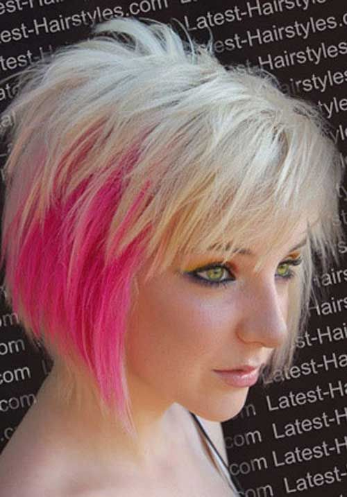Wonderful 30 Short Hair Color Styles  Short Hairstyles 2016  2017  Most