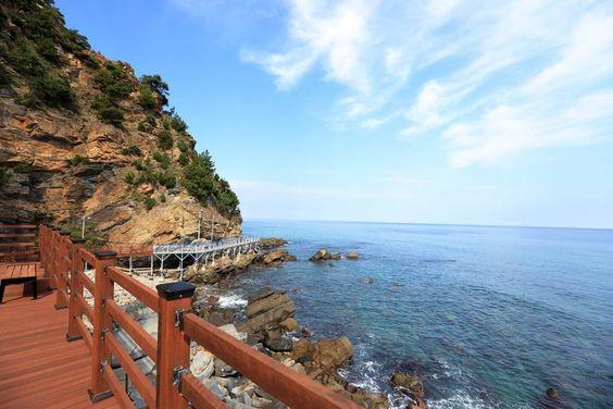 Bãi biển Jeondongjin của Hàn Quốc