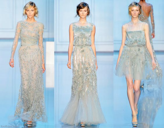 Elie Saab Fall Winter 2011 2012 Haute Couture