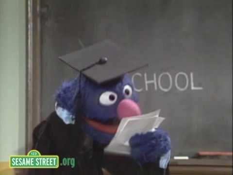Sesame Street: Professor Grover: School