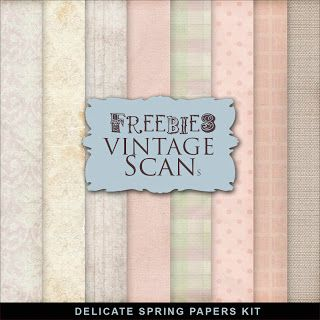 Nuevos Freebies Papers Spring Delicate