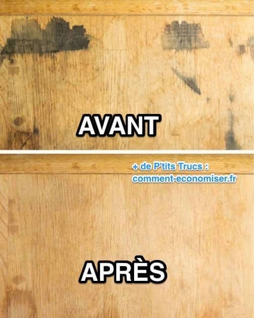 Vous Avez Une Table En Bois 11 Astuces Miracle Pour Faire Disparaitre Toutes Les Taches Meuble Bois Decapant Bois Renover Bois