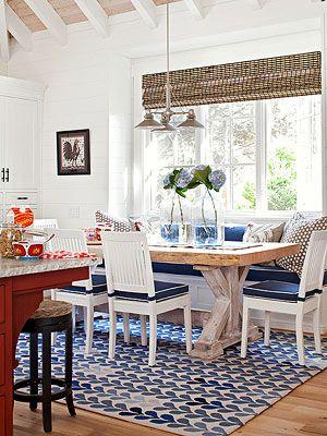 Trendy Cozy Kitchen Nook