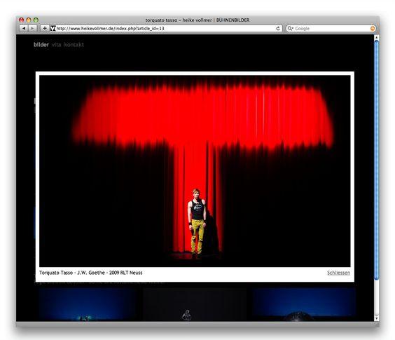 Bühnenbildner-Website heikevollmer.de: Zoom-Ansicht eines Projektfotos
