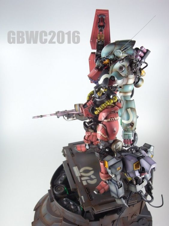 POINTNET.COM.HK - GBWC 2016 日本 改裝作品 「survive!!」