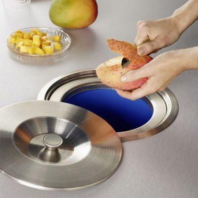 Poubelle De Plan De Travail 8l Cuisine Design Kitchen Design Kitchen