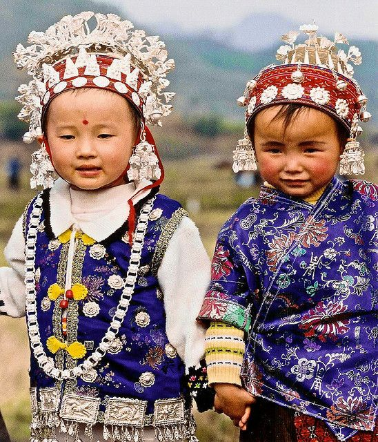 Miao Children in Southern China