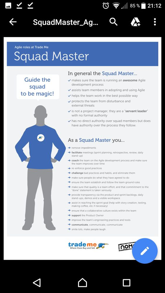 Squad Master