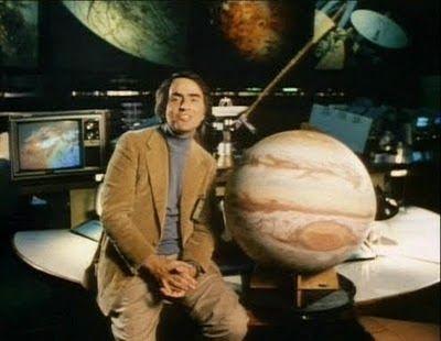Marcianos Como No Cinema: Carl Sagan - Televisão e a Ciência.