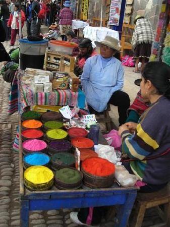 Cusco market!