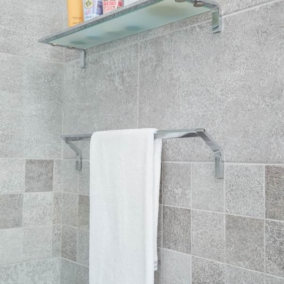 Rio Stainless Steel Bathroom Accessories -  600mm Towel Rail | Stainless Steel Bathroom Accessories | BetterBathrooms.com