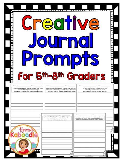 writing prompts for 5th grade Advanced search containing any of questions were added to the 5th and 8th grade science and writing tests and end-of writing prompts old.