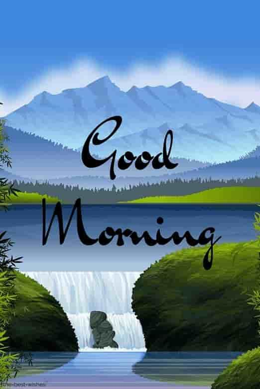 Nature Good Morning Image