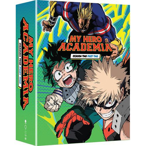 Get My Hero Academia Season 2 Part 2 Blu Ray Dvd Combo Pack W Digital Copy On The Tokyo Otaku Mode Shop Orde My Hero Academia Hero Academia Season 2 My Hero