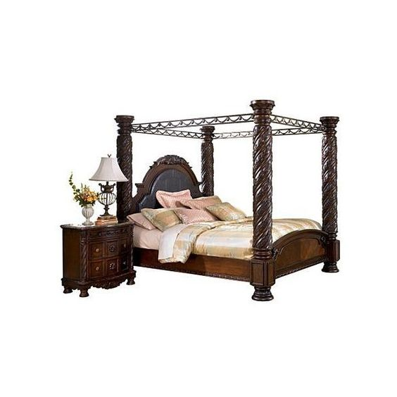 North Shore California King Canopy Bed Liked On Polyvore For The Home Pinterest Cas Home