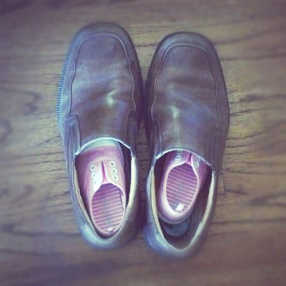 Big shoes to fill. Fathers's day inspiration photo.