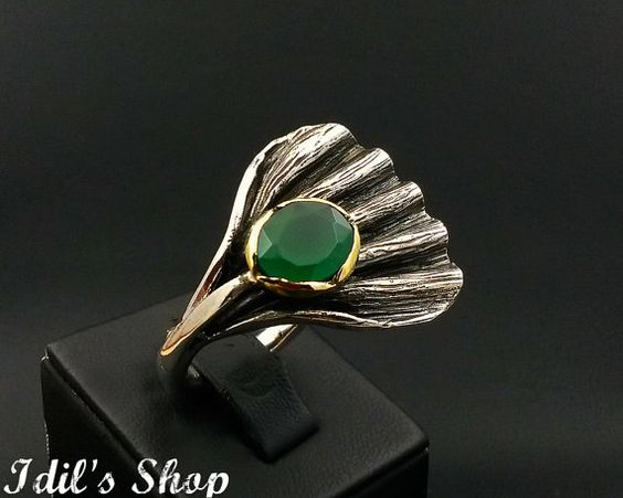 Ring Bague Anillo Special Design Jewelry 925 Sterling Silver by IdilsShop