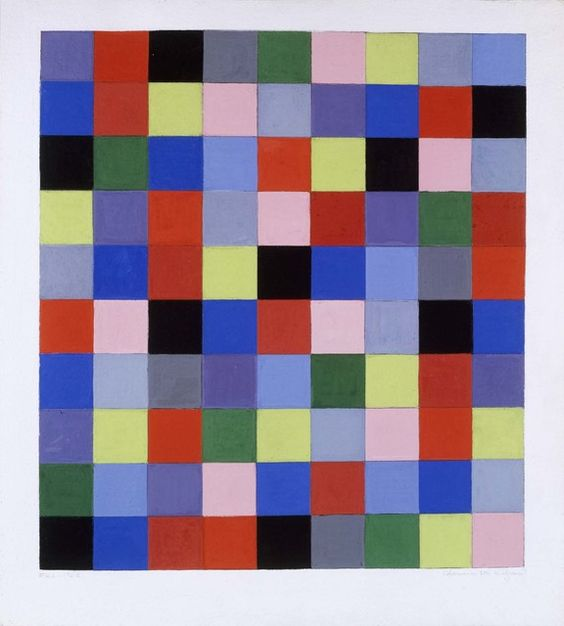 Charmion von Wiegand, 'Gouache #162 Prismatic Lattice: Tragic Square,' 1962, Michael Rosenfeld Gallery