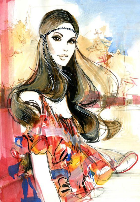 boho chic fashion photos | estilo bohemian look chic ou boho chic e o estilo mais comentado do ...