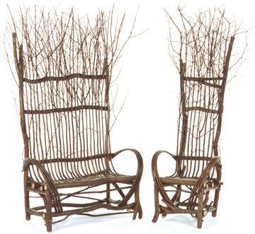 Etonnant Artisan Made Twig Furniture Is Green,sustainable, Versatile And Charming    National Designer Furniture