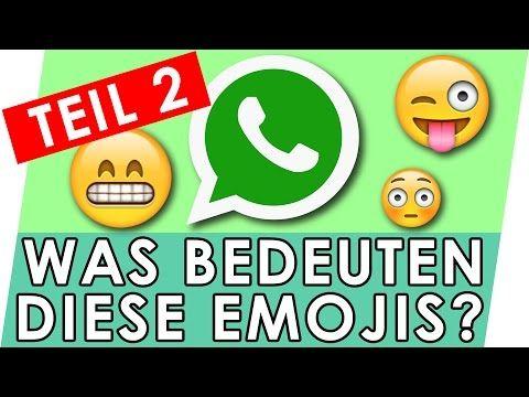 Whatsapp Emojis Bedeutung Erklart Teil 2 Geniale Fakten Tipps Tricks Youtube Emojis Bedeutung Whatsapp Tipps Tipps