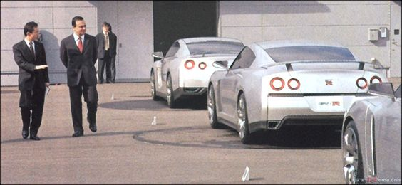 Nissan GT-R Prototypes (with Carlos Ghosn)