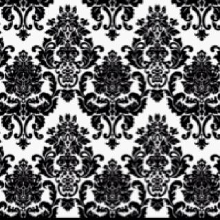 So in love with damask patterns, debating between wallpaper or curtains in this pattern.