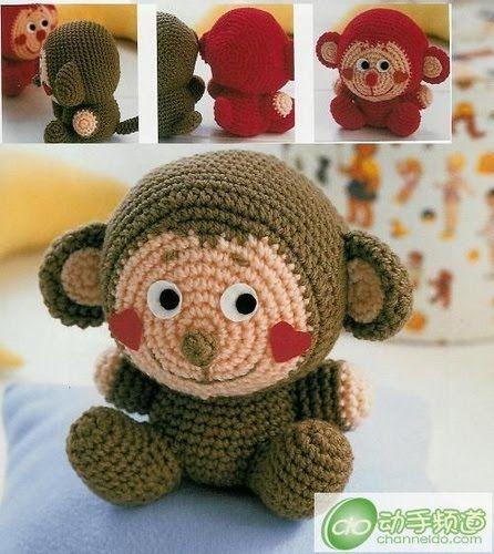 Amigurumi Monkey - free crochet pattern FREE Amigurumi ...