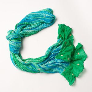 Annika Shibori Scarf now featured on Fab.