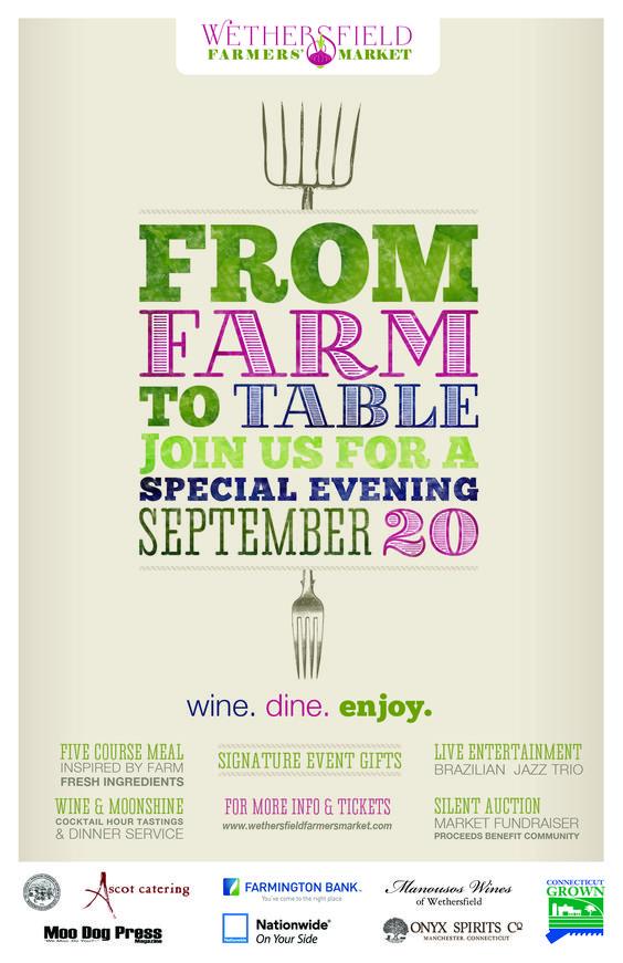 From Farm to Table Affiche du0027art et de Design Pinterest - dinner flyer