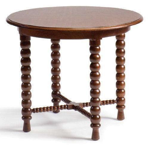 Bauer International Viceroy Planters Round End Table by Bauer. $718.00. Handcrafted of mahogany. 30 in. W x 26 in. H. The traditional bead motif featured on Bauer International Viceroy Planters Round End Table is a design sure to catch your eye. Handcrafted from plantation-grown teak and finished with stains and shellac, it is an heirloom today and tomorrow. It is just the right size to display a lovely lamp and a few well-chosen mementos. The Viceroy Planters Round will ...