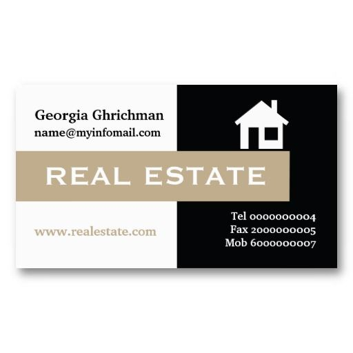 Eye Catching Real Estate Business Cards Best Business Cards
