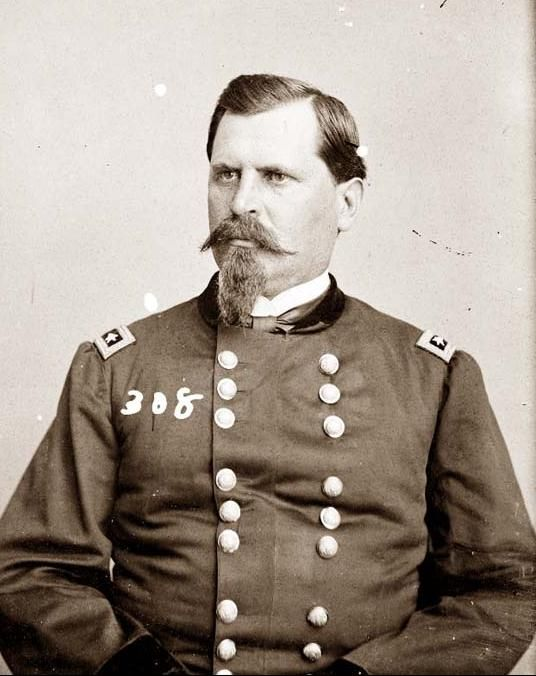 "General William Babcock Hazen (September 27, 1830 – January 16, 1887).  Ambrose Bierce called him ""the best hated man in the army.""  Served under Generals Buell and Rosecrans, later under General Sherman."