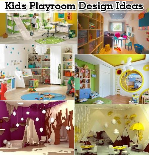 I will have a circle connecting each kids room to the playroom