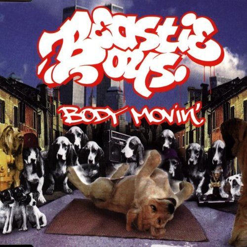 Beastie Boys – Body Movin' (single cover art)