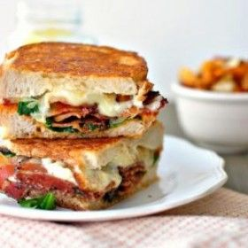 If you love BLTs and grilled cheese, try combining them into one delicious sandwich | Recipe from United Dairy Industry of Michigan