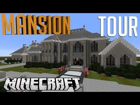 Minecraft Mini Mansion Tour Youtube Mansions Mansion Tour Minecraft