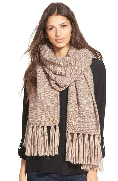 Vince Camuto Dropped Stitch Scarf available at #Nordstrom