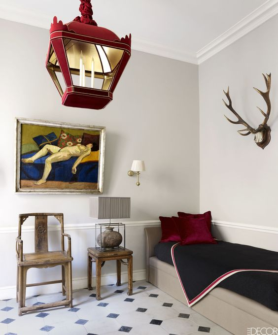 HOUSE TOUR: East Meets West In A Sophisticated Paris Pied-À-Terre: