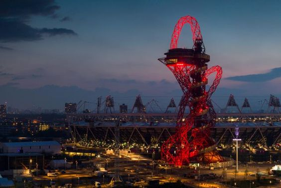 ArcelorMittal Orbit Tower: London, England / designed by Anish Kapoor
