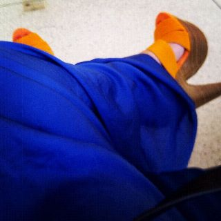 Love blue & orange